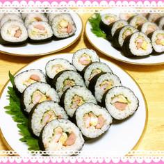 簡単!寿司型で楽しく綺麗な巻き寿司作り☆