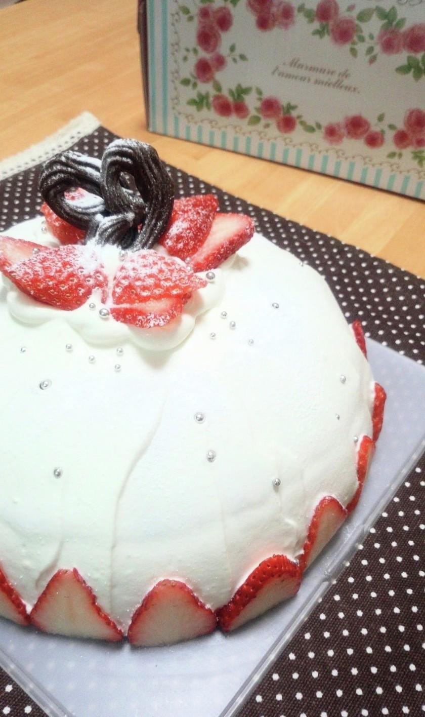 超簡単☆ドームケーキ