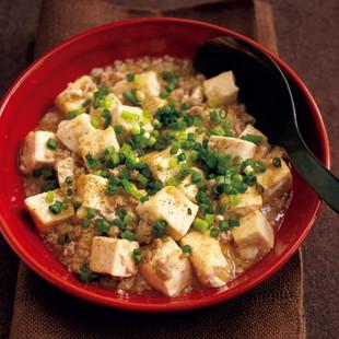 ねぎ塩麻婆豆腐