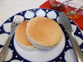 ふんわりパンケーキ!ノンバター&エッグ!