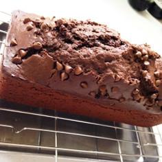 HMで♡簡単チョコパウンドケーキ