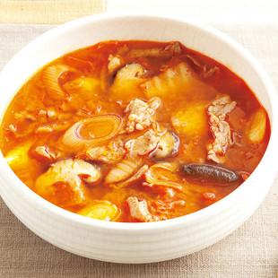 豚キムチスープ