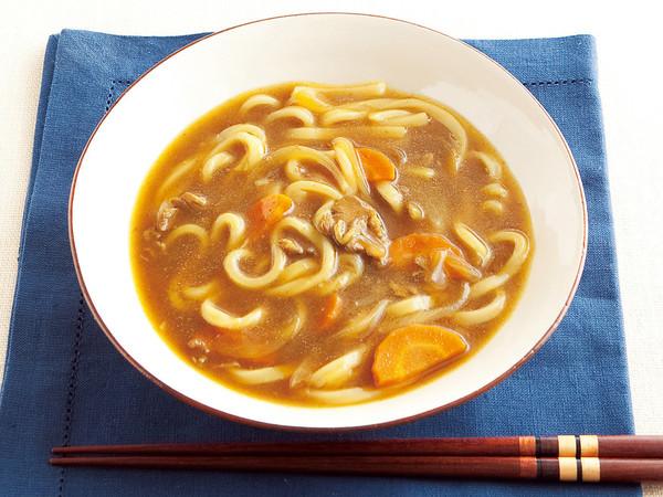 カレーうどんスープ