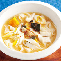 ほうとう風スープ