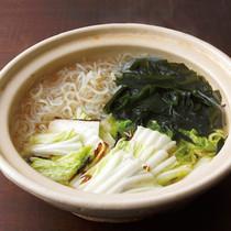 焼き白菜鍋