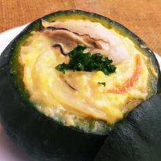 魚屋のかぼちゃIN牡蠣シチュー♬