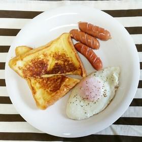 朝ごはんに!簡単!ハニーフレンチトースト