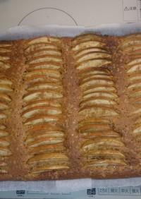 リンゴのシナモンカフェケーキ
