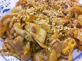 ◆簡単*豚切り落とし味噌マヨ炒め◆