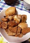 とんかつ用ロース肉で角煮風