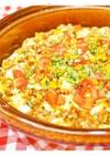サバとトマトの麻婆豆腐
