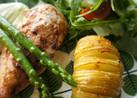 スウェーデン料理:ハッセルバックポテト