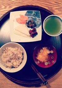 食物繊維たっぷり☆生姜ごぼうご飯