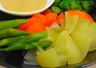 袋1枚♪レンジ5分で温野菜♪♪