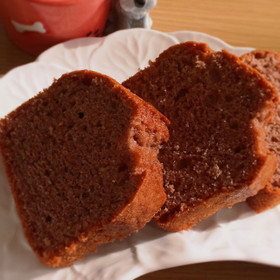 残ったこしあんでパウンドケーキ