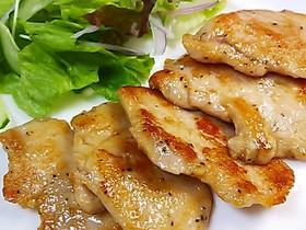 *鶏むね肉〓ごま油焼き*