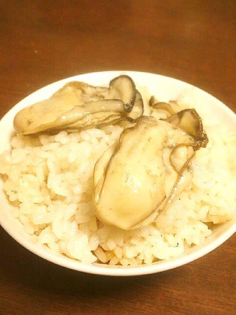 ☺醤油不使用☆簡単♪シンプル牡蠣ご飯☺