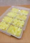 離乳食中期⁑角切りりんご(フリージング)