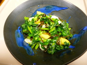 だいこん葉で二品!菜飯と塩レモンの浅漬け