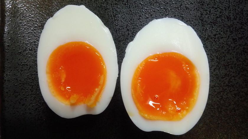 半熟卵好きの《失敗しない簡単半熟ゆで卵》