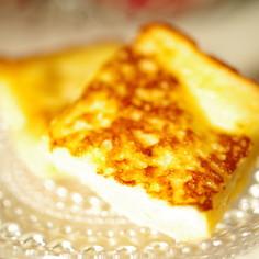最初から食パンを切ってフレンチトースト