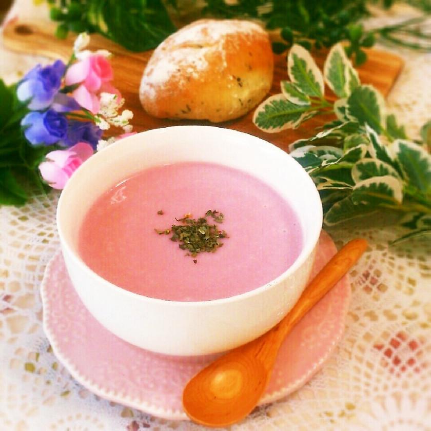 赤かぶのポタージュスープ