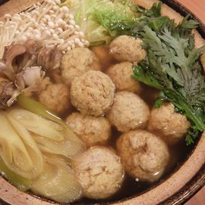 鶏れんこん団子の薬膳カレー鍋