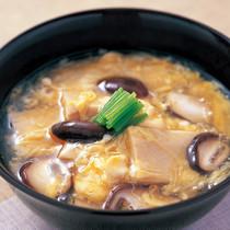 高野豆腐のかきたま汁