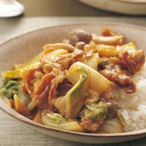 中国風白菜丼