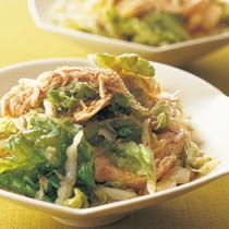 白菜と蒸し鶏のナムルサラダ