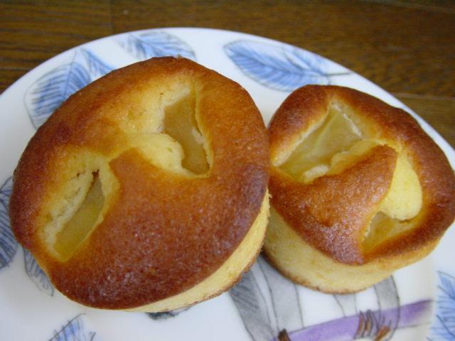 りんごチーズバターケーキ