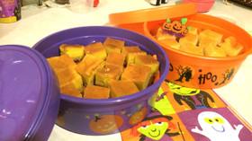 ハロウィンに!濃厚カボチャケーキ