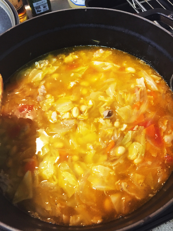 リボリータ スープ