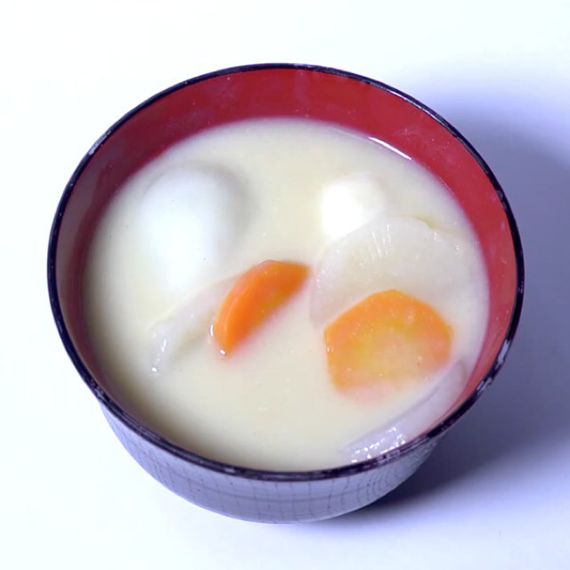 香川風お雑煮〜あんこもち入り〜