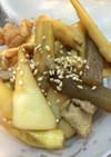 筍とエリンギがグー!豚と筍の甘辛炒め✨