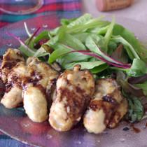 牡蠣の香ばしバルサミコソテー