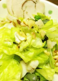 【糖質制限】【副菜】キャベツのサラダ