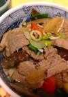 いのしし肉の味噌炒め煮