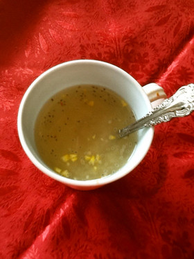 チアシードカップ味噌汁