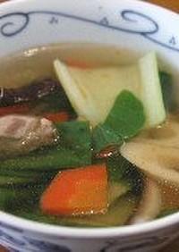 四川風中華スープ