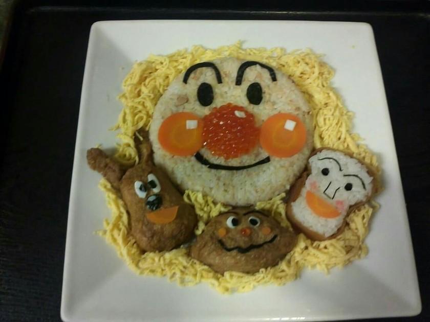 ⭐アンパンマンちらし寿司⭐