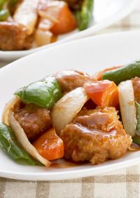 トロピカル酢鶏★とちおとめソースダレ