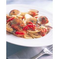 あさりのトマトスパゲッティ