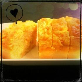 HMで簡単おやつ★みかんパウンドケーキ