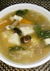 ヘルシー☆雑穀米と野菜の和風スープ