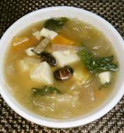ヘルシー☆雑穀米と野菜の和風スープの写真