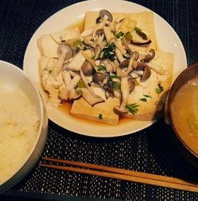 簡単、時短、ダイエット!豆腐ステーキ♡