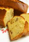 胡桃と味噌のパウンドケーキ