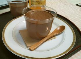 濃厚トロトロ!至高のチョコレートプリン