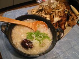 炊飯器におまかせ♡参鶏湯(サムゲタン)